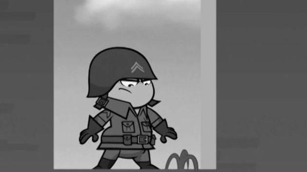 Herói de guerra - Kick Buttowski