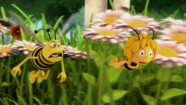 A história - A abelha Maya