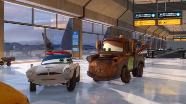 Conoce a Finn - Cars 2