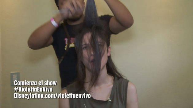 Show en Brasil - Violetta en Vivo