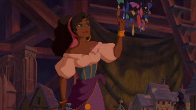 Esmeralda conhece o lugar de Quasímodo - O corcunda de Notre Dame
