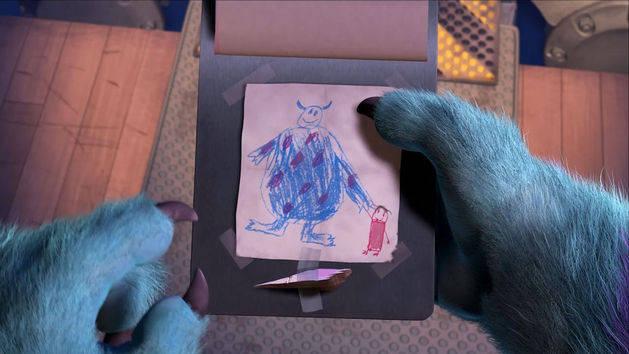 Monstros S.A. - Sulley volta a visitar Boo
