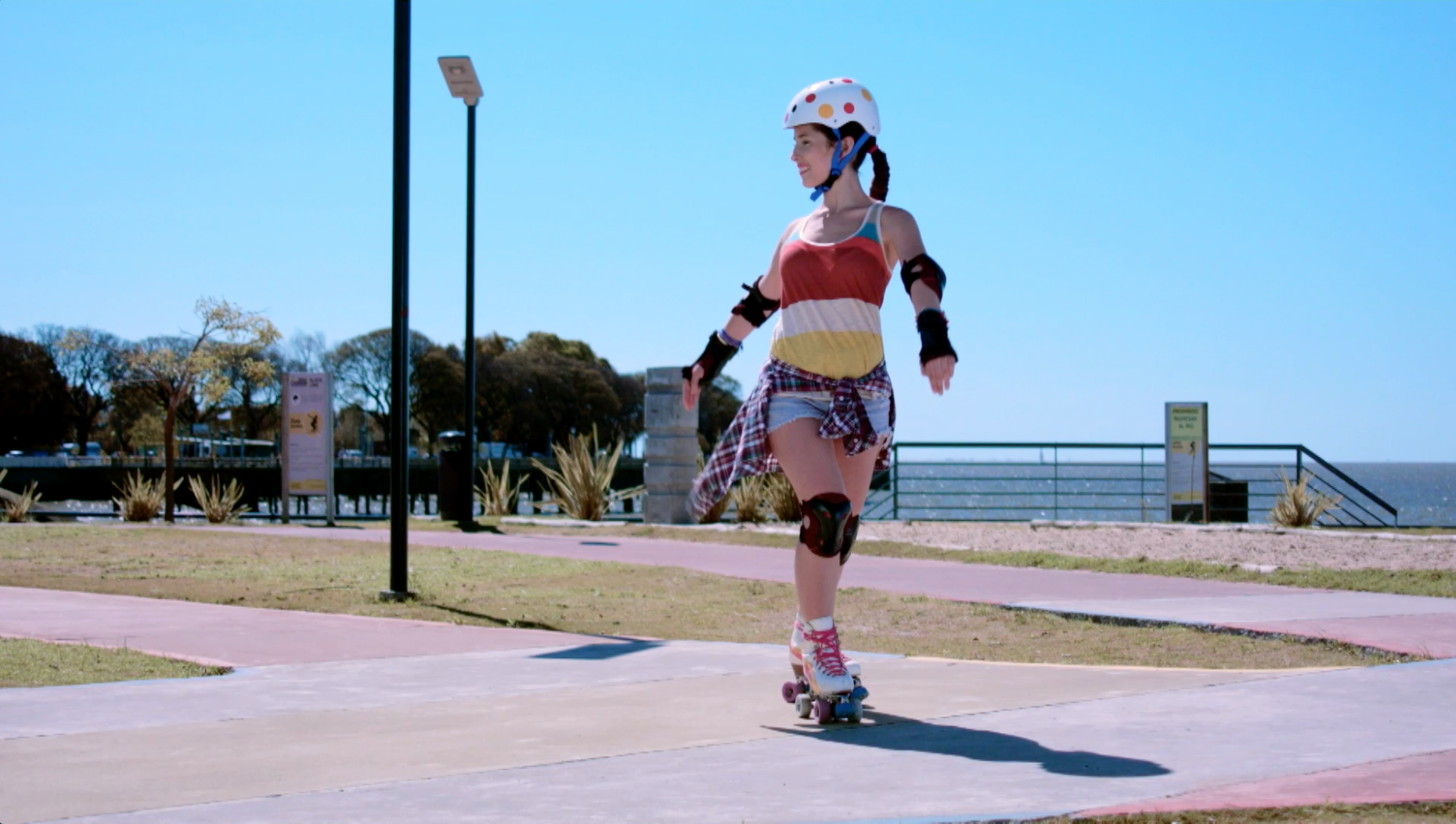 Curvas - Hora de patinar - Sou Luna