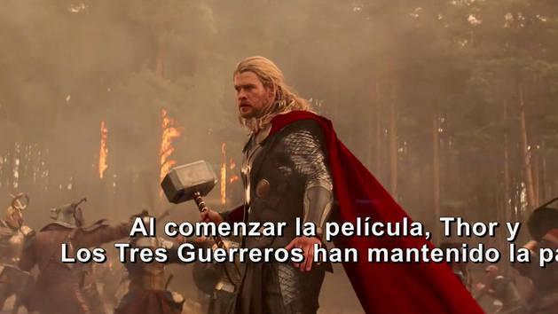 La Historia - Thor: Un mundo oscuro