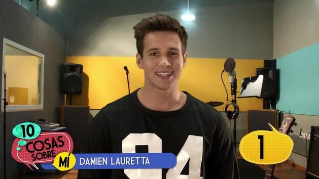 Damien Lauretta - 10 cosas sobre mí