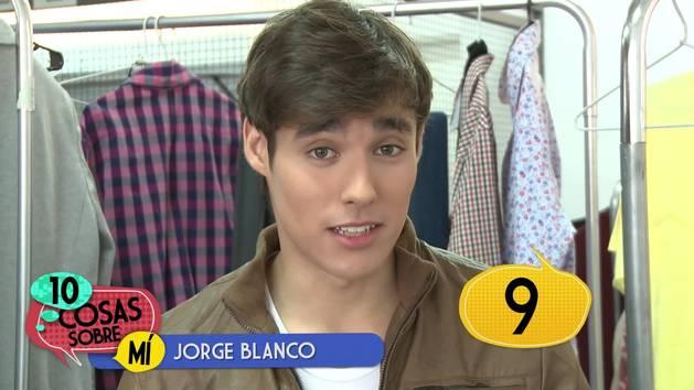 Jorge Blanco - 10 cosas sobre mí