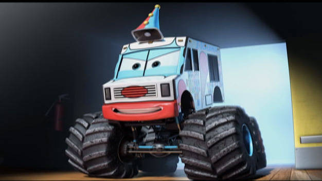 Mate, Monster Truck - Carros Toon