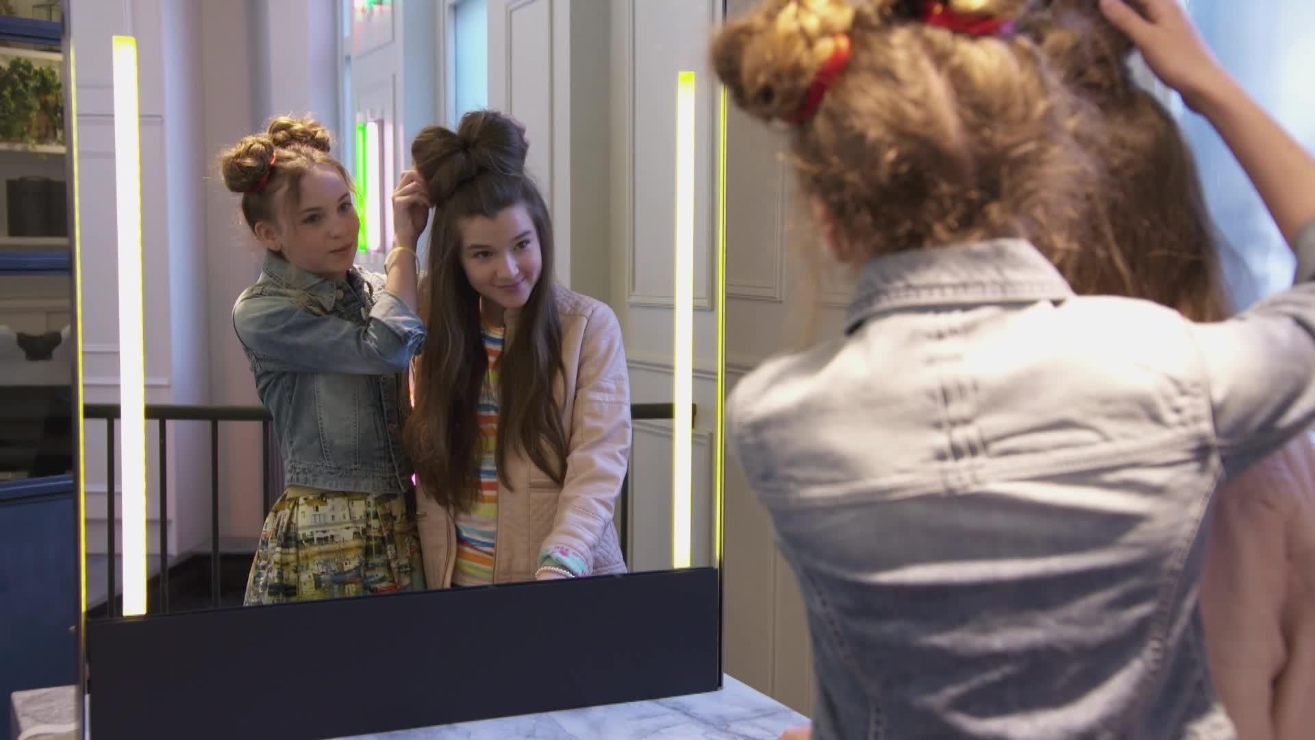 Minnie's Fashion Challenge – Peinado