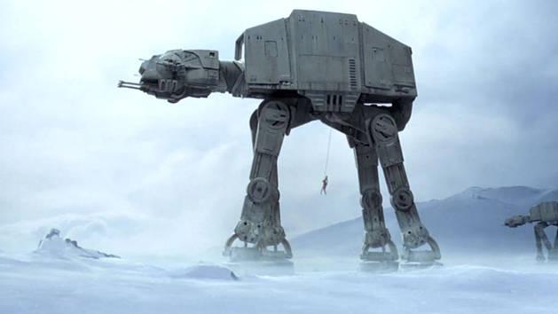 Star Wars – Luke destruye un AT-AT