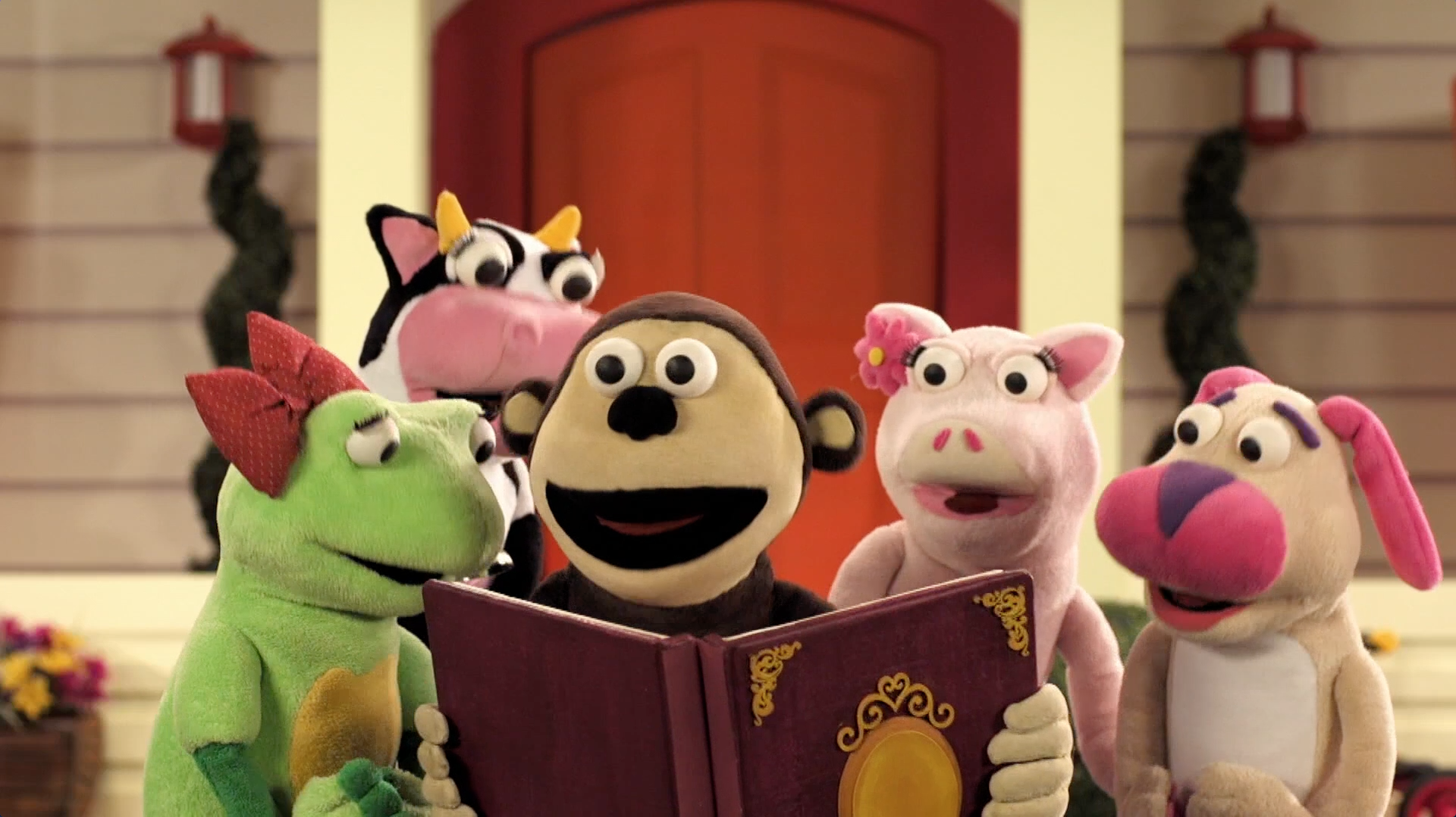 A mi me gustan los cuentos - Bubbacanción - Bubba y sus amigos