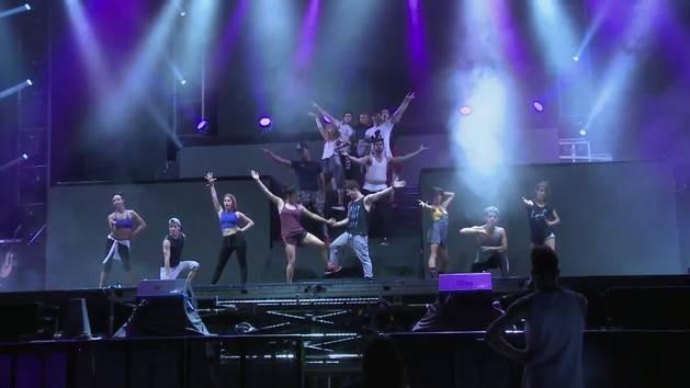 Primer día de ensayo - Violetta en vivo: gira despedida