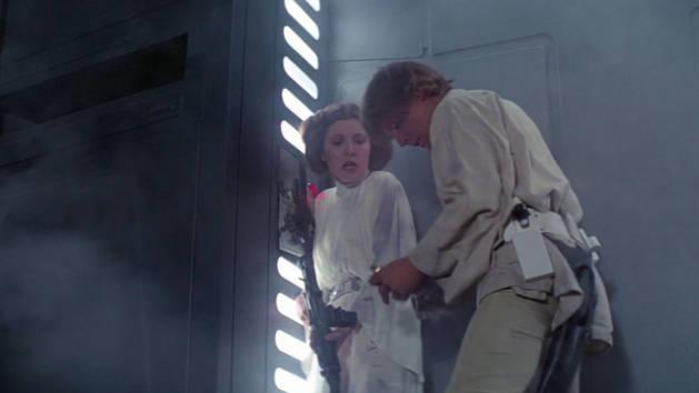 Star Wars – El escape de Luke y Leia