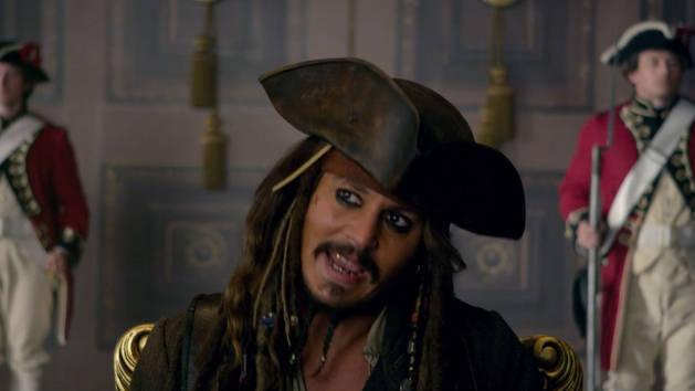 Barba Negra - Piratas del Caribe