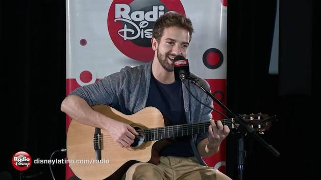 Pablo Alborán - Pasos de cero (Acústico en Radio Disney)