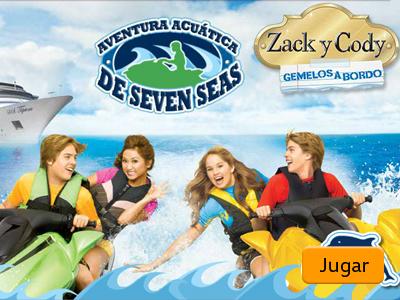 Aventura acuática de Seven Seas
