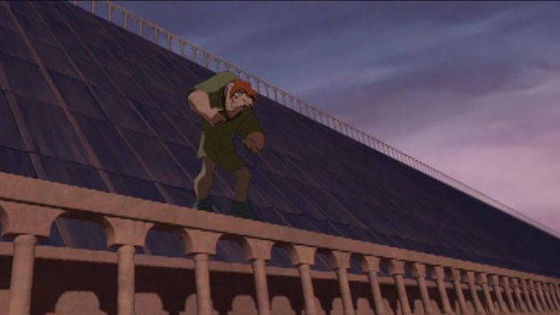 Lá fora - O corcunda de Notre Dame
