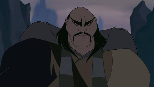 Shan Yu - Villanos Disney