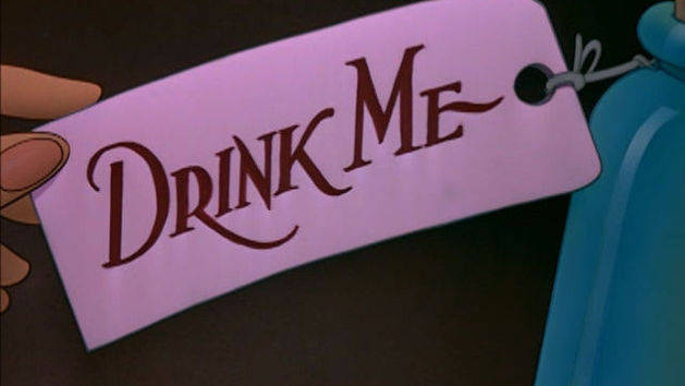 Beba-me - Alice no País das Maravilhas