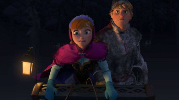 Persecución - Frozen: Una Aventura Congelada