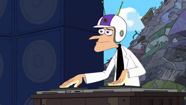 """Un ornitorrinco me controla"" - Phineas y Ferb"