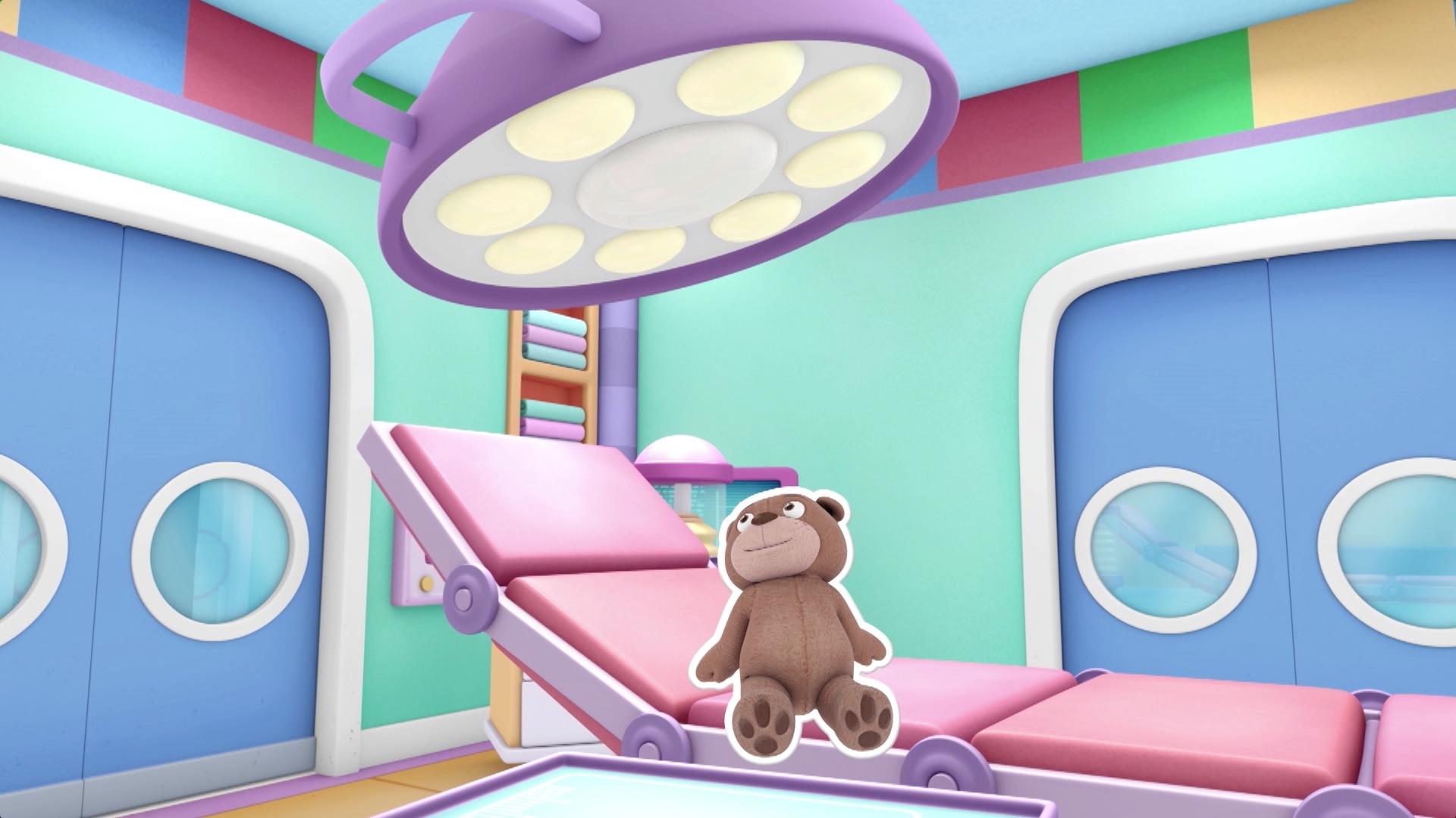 Passeio pela sala de cirugia - Doutora Brinquedos e seu hospital