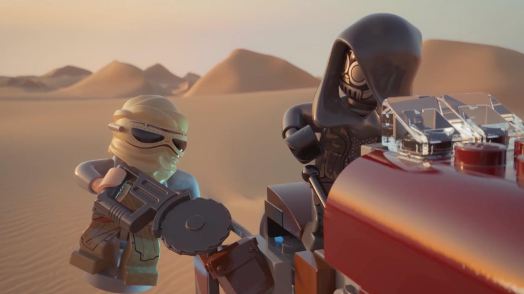 LEGO Star Wars - Minipelícula 2015 - Episodio 12: Rey's Speeder™
