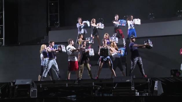 Palabras de los chicos - Violetta en vivo: gira despedida