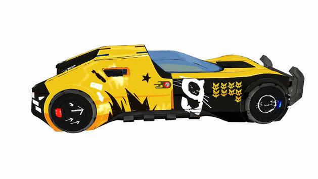 Motorcity 101: Diseño de los autos