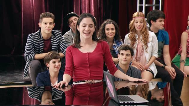 """Momento Musical: Los chicos cantan """"Euforia"""" - Violetta"""