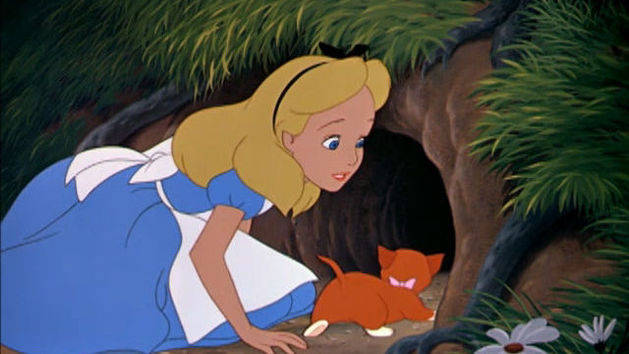 A queda - Alice no País das Maravilhas