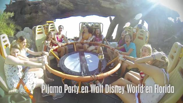 Diversión en Walt Disney World - Pijama Party
