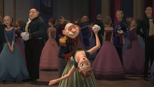 Arrasando na pista - Olaf dá risada
