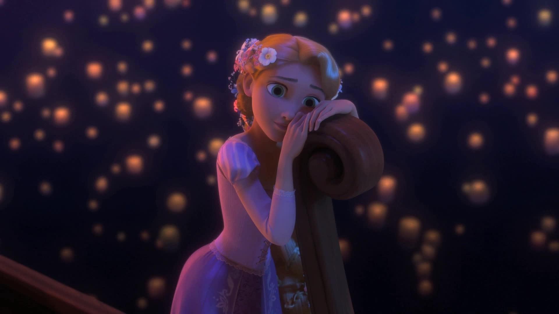 Vejo, Enfim, A Luz Brilhar - Enrolados - Sou Uma Princesa