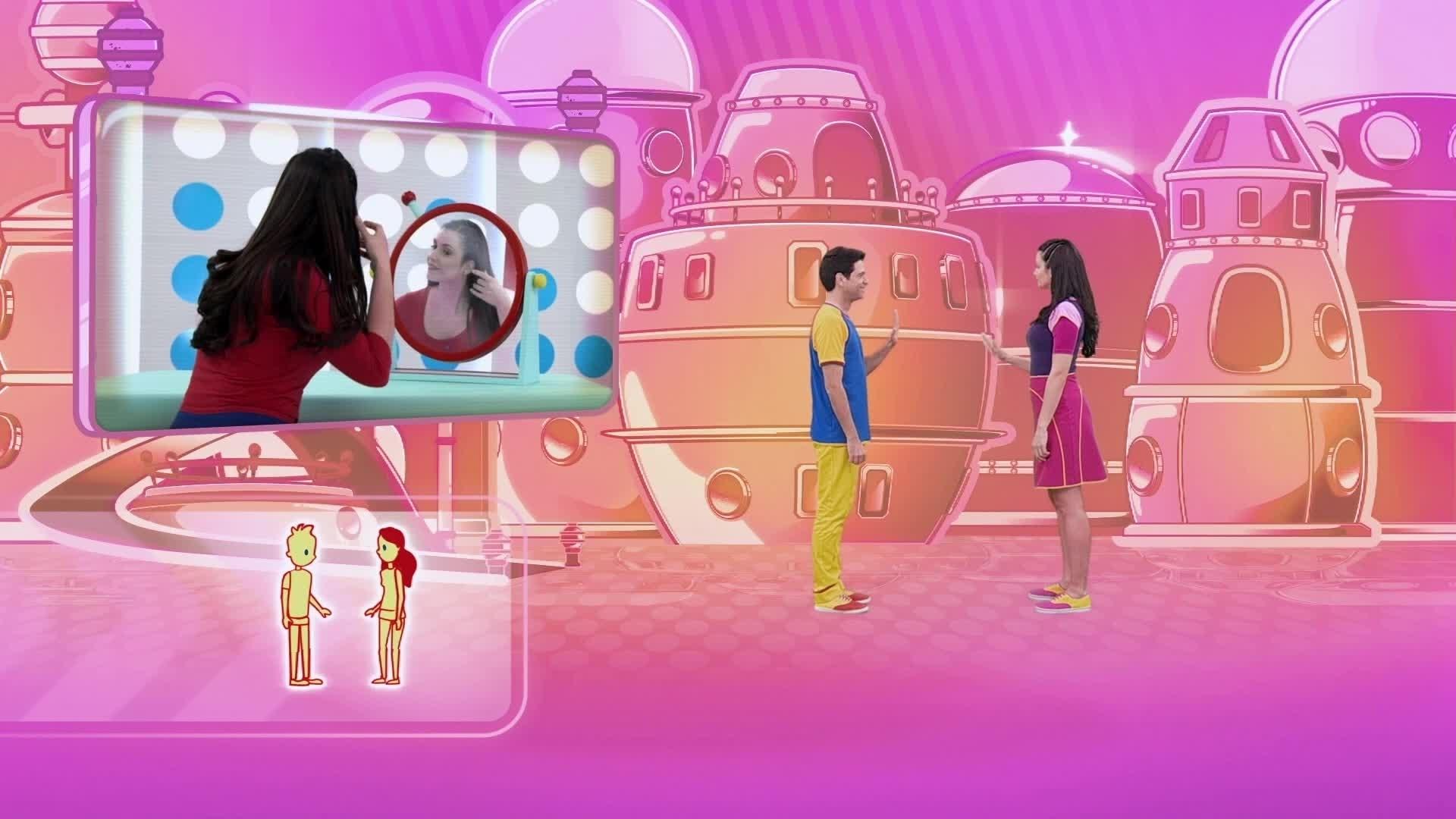 O jogo de espelho - Dançando no Parquinho
