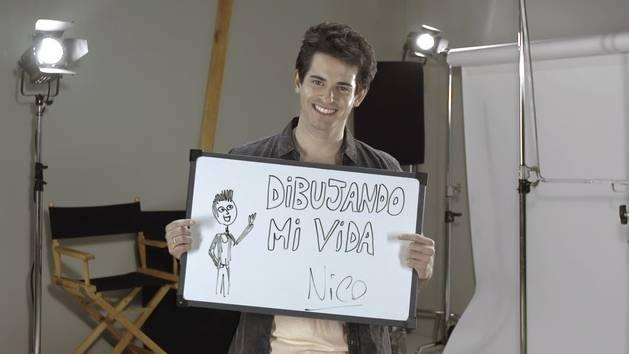 Desenhando minha vida: Nico Garnier (Draw my life)
