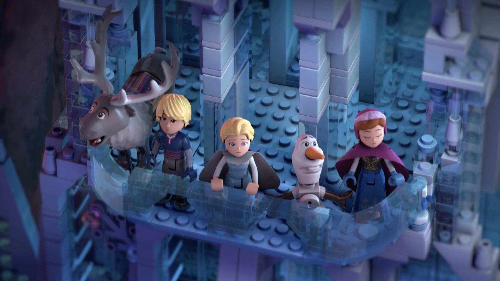 LEGO Frozen Luzes congelantes - Parte 2 - O grande glacial