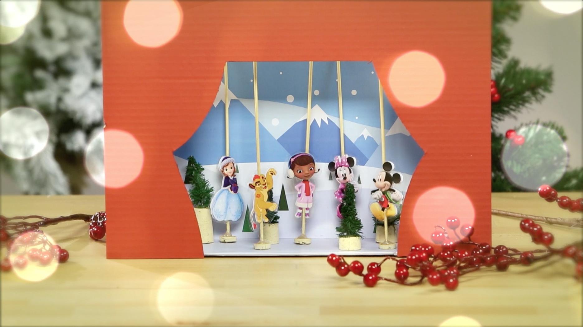 Animse-se a fazer um teatro de Natal