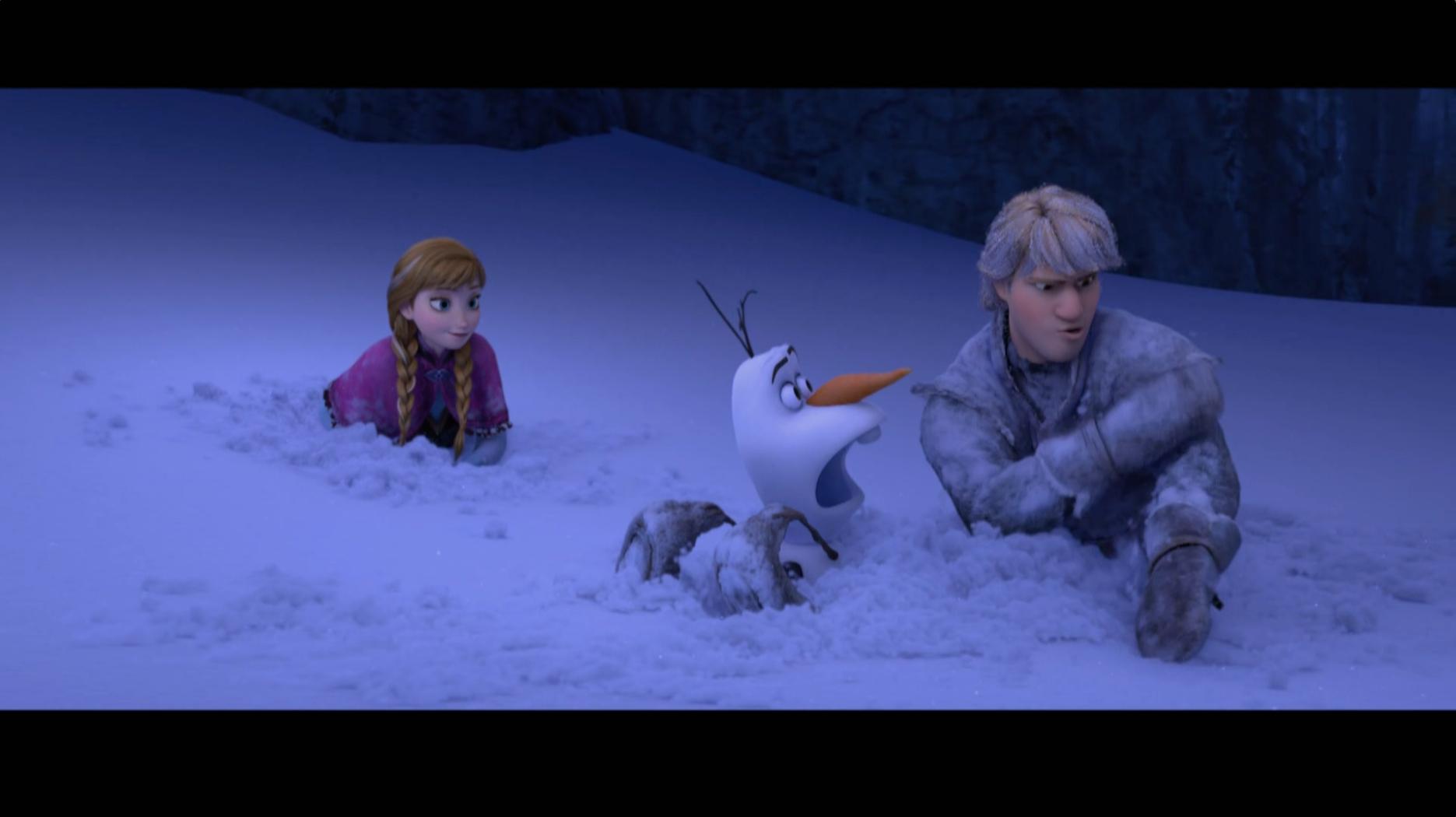 Mantendo a calma sob pressão – Olaf dá risada