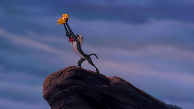 A apresentação de Simba - O Rei Leão