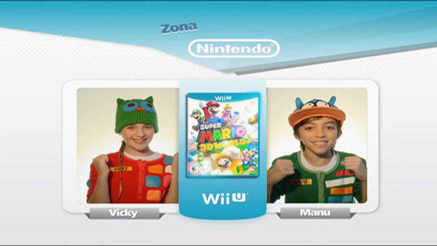 Super Mario 3D World – La Zona Nintendo – Vicky y Manu – Pijama Party