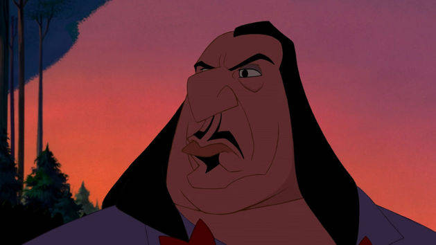 Gobernador Ratcliffe - Villanos Disney