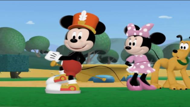 El desfile de Minnie - Mousekejercicios