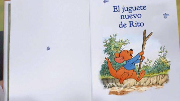 """""""El juguete nuevo de Rito"""" - Winnie Pooh"""