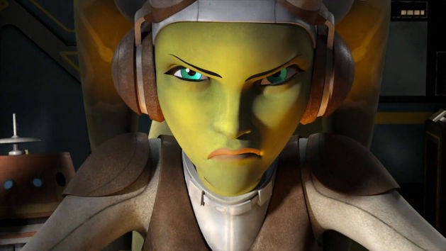 Vistazo exclusivo - Star Wars Rebels