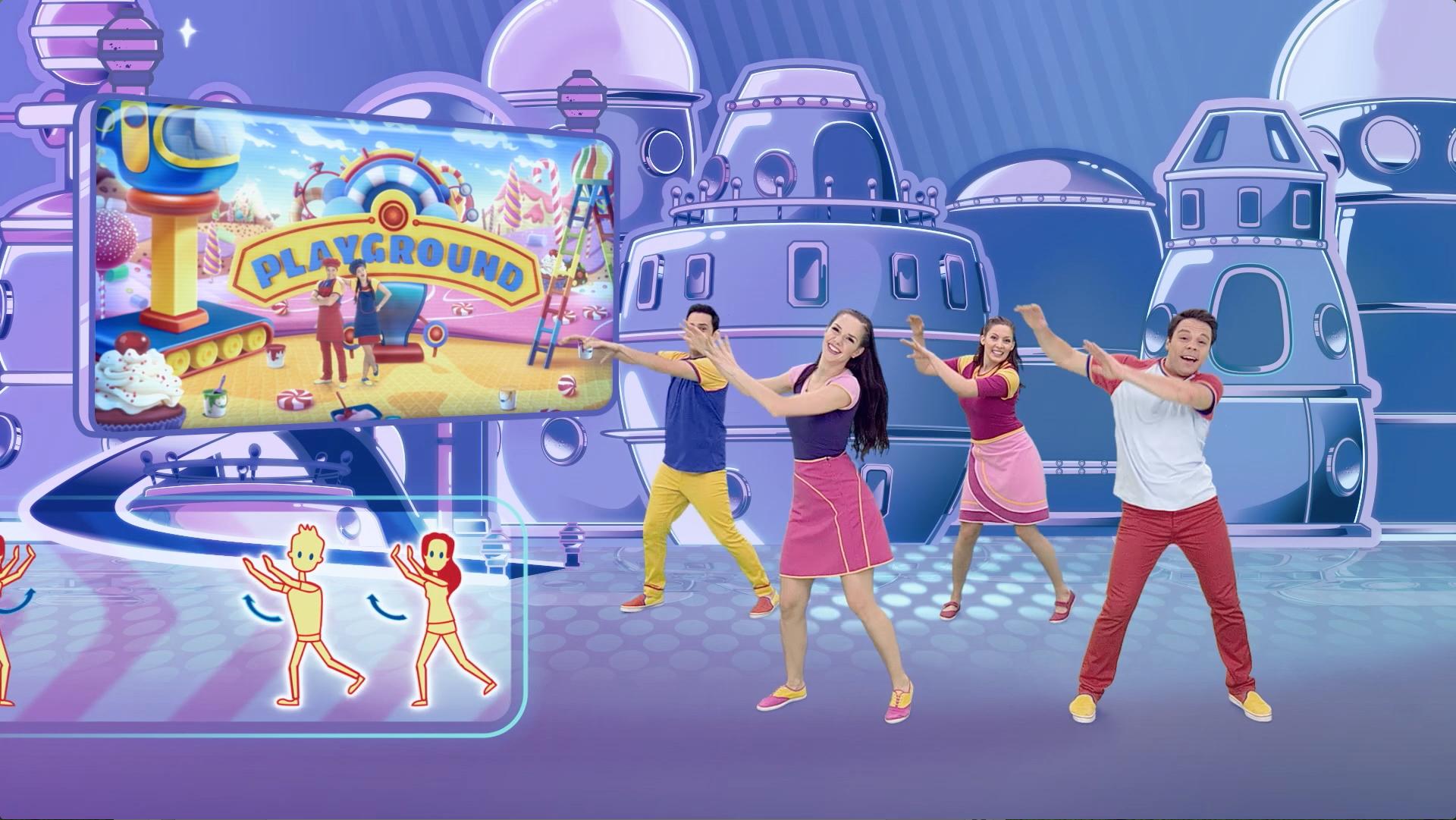 Somos un equipo - Bailando con Playground