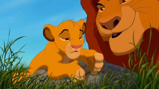 La lección de Simba - El Rey León