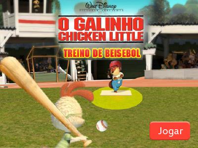 O Galinho Treino de Beisebol
