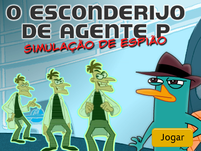 O esconderijo do Agente P
