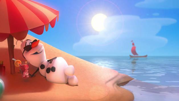 Olaf canta ¨No Verão¨– Frozen: Uma aventura congelante
