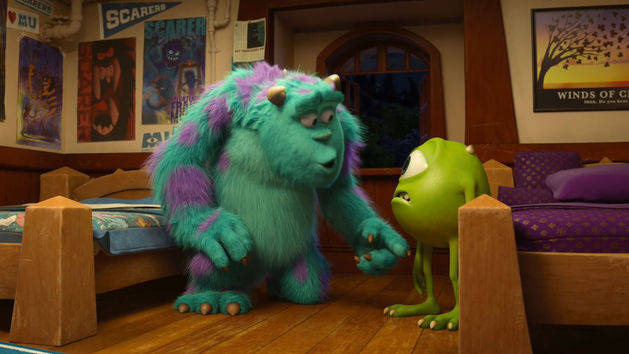 Primer contacto - Monsters University